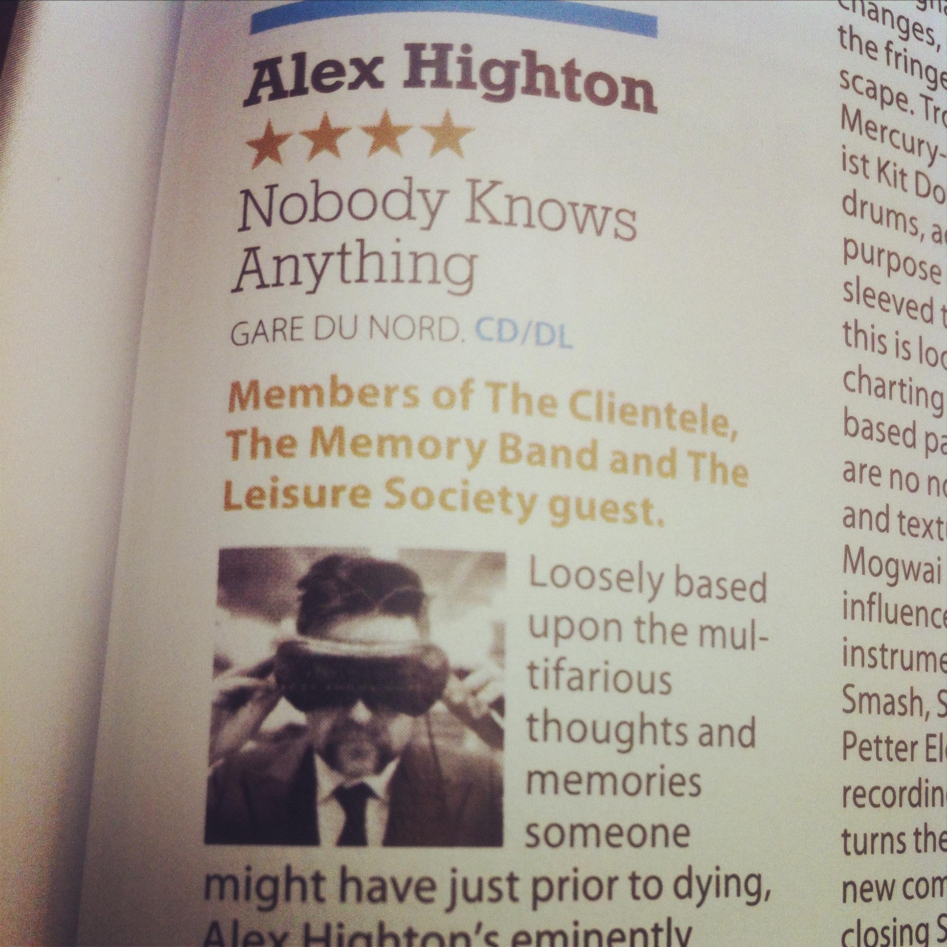 4 Stars in Mojo Magazine!